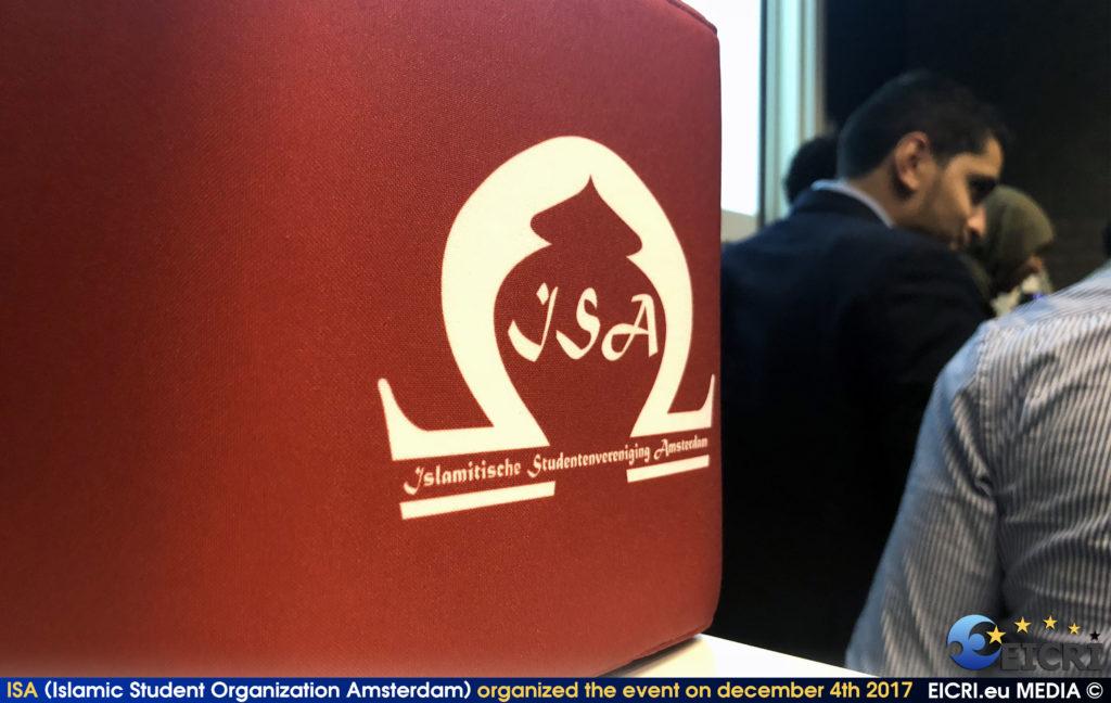 ISA (Islamic Student Organisation Amsterdam) organised the event on december 4th 2017
