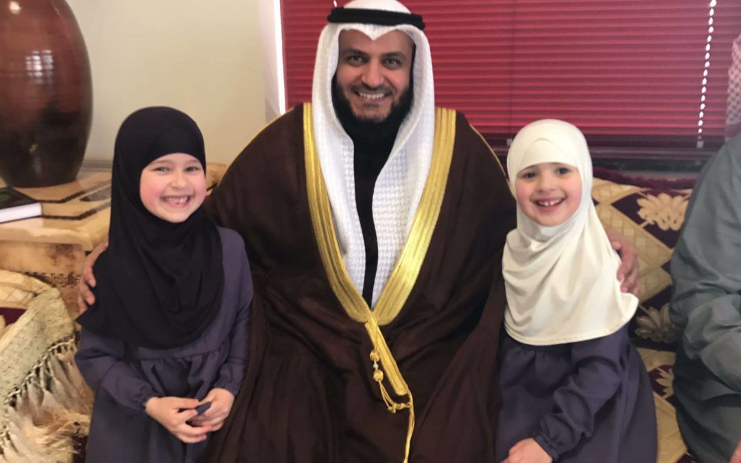 Sheikh Mishary al Afasy in the Dutch Hague asSoennah Mosque, Facebook page of al-Yaqeen©
