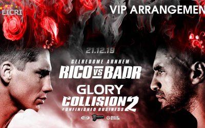 GLORY COLLISION 2 arrangement – EICRI VIP Tours
