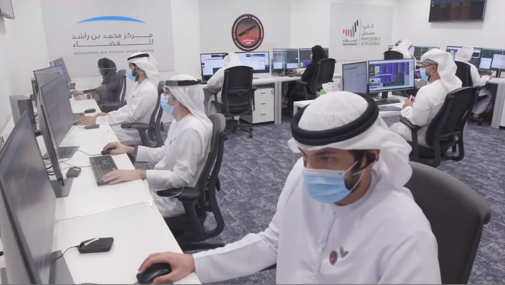 "First Arab Space Mission ""Hope"" underway to Mars"